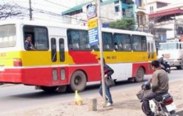 """Xe bus """"nhái"""" lộng hành khắp Thủ đô"""