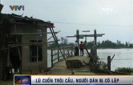 """""""Ốc đảo"""" Đông Bình mong mỏi một cây cầu!"""