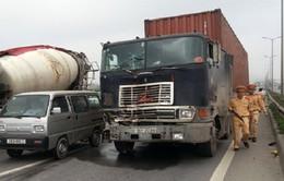 Thành lập tổ kiểm tra xe container vi phạm trật tự ATGT