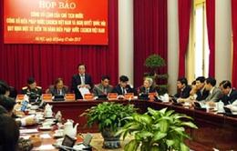 Chủ tịch nước công bố Hiến pháp nước CHXHCN Việt Nam
