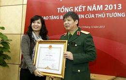 Phó Chủ tịch Quỹ Tấm lòng Việt nhận bằng khen của Thủ tướng Chính phủ
