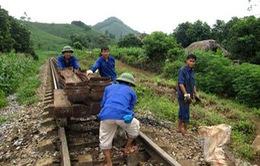 Đẩy nhanh tiến độ thi công tuyến đường sắt Yên Viên - Lào Cai