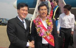 Cảng hàng không quốc tế Tân Sơn Nhất đón vị khách thứ 20 triệu