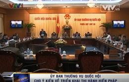 UBTV Quốc hội cho ý kiến về triển khai thi hành Hiến pháp