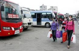 Hà Nội: Hỗ trợ xe đưa 3.000 công nhân về quê đón Tết