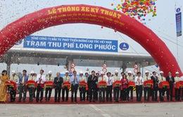 Thông xe kỹ thuật 20km đường cao tốc TP.HCM - Long Thành - Dầu Giây