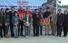 Cao nguyên đá Đồng Văn đón những vị khách đầu tiên của năm 2014