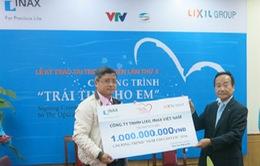 LIXIL INAX Việt Nam trao tặng 1 tỷ đồng và tiếp tục đồng hành cùng TTCE