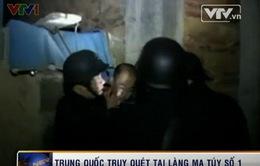 Trung Quốc huy động máy bay chiến đấu, tàu cao tốc để truy quét làng ma túy