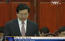 Bộ trưởng Bộ Công Thương: Có tiêu cực trong lực lượng chống buôn lậu (VIDEO)