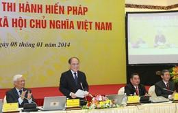 Hội nghị toàn quốc triển khai thi hành Hiến pháp