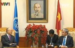 Bộ KH&CN làm việc với TGĐ cơ quan năng lượng nguyên tử quốc tế IAEA