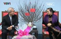 Ban Dân vận tiếp Ủy Ban đoàn kết công giáo Việt Nam