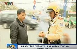 Hà Nội: Tăng cường xử lý xe khách chạy vòng vo trong dịp Tết