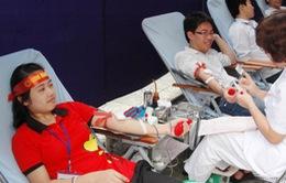 Hơn 8.400 đơn vị máu đã được hiến trong ngày Chủ Nhật Đỏ