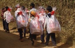 Tặng quà Tết cho đồng bào nghèo tỉnh Phú Thọ