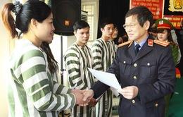 Hà Nội giảm án, tha tù cho 230 phạm nhân về đón Tết