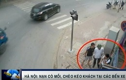 Nạn cò mồi, chèo kéo tại bến xe khách ở Hà Nội