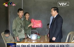 Hà Tĩnh: Hỗ trợ người dân vùng lũ đón Tết