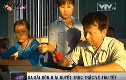 Ga Sài Gòn sẽ đổi vé cho hành khách không thu phí