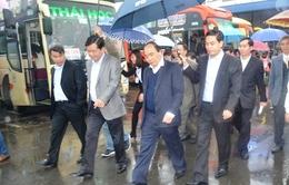 Phó Thủ tướng Nguyễn Xuân Phúc kiểm tra công tác vận tải hành khách