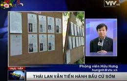 Tại sao Thái Lan vẫn phải tiến hành bầu cử sớm?