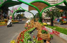 Hôm nay (28/1), khai mạc đường hoa Nguyễn Huệ