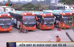 Quảng Ngãi: Tăng cường kiểm soát xe khách chạy quá tốc độ