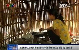 Phú Yên: Kiểm tra, xử lý thông tin về hỗ trợ gạo cho hộ nghèo