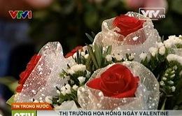 """Valentine: Hoa """"lạ"""", """"độc"""" đắt khách dù giá cao"""