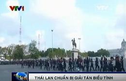 Thái Lan chuẩn bị giải tán biểu tình