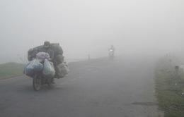 Lào Cai: Nguy cơ tai nạn giao thông vì sương mù dày đặc