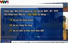 Bộ GTVT đánh giá triển khai các dự án BOT, BT, PPP
