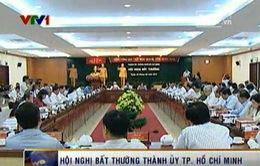 Hội nghị bất thường Thành ủy TP.HCM