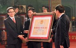 Hà Nội có thêm 5 di tích Quốc gia đặc biệt