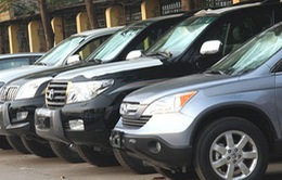 Không mua ô tô phục vụ chức danh