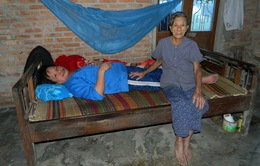 Xót cảnh mẹ già 80 tuổi nuôi con tàn tật