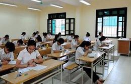 Ngày 17/3, học sinh lớp 12 đăng ký hai môn thi tự chọn