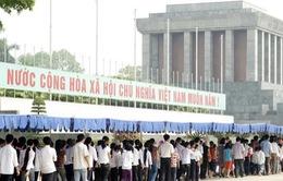 Hà Nội mở rộng tuyến phố đi bộ quanh Lăng Chủ tịch Hồ Chí Minh