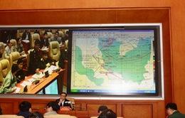 Mở rộng khu vực tìm kiếm máy bay Malaysia mất tích