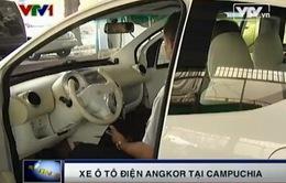 Xe ô tô điện Angkor - niềm tự hào của Campuchia