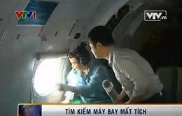 Phóng viên VTV theo chân đoàn tìm kiếm Việt Nam rà soát máy bay Malaysia mất tích