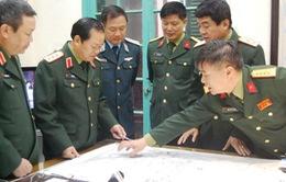 Thượng tướng Đỗ Bá Tỵ trực tiếp chỉ đạo tìm kiếm máy bay Malaysia mất tích