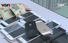 Bắt nhóm đối tượng lừa bán điện thoại Iphone không rõ nguồn gốc