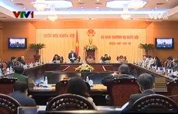 Bế mạc phiên họp 26 Ủy ban thường vụ Quốc hội