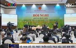 Hội nghị đối tác phát triển khắc phục hậu quả bom mìn