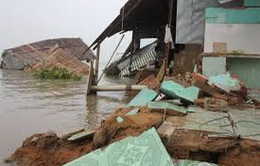 Tiền Giang: Chi 21 tỷ đồng di dời dân khỏi vùng sạt lở