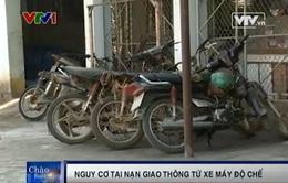 Tràn lan xe máy độ chế chở gỗ lậu tại Khánh Hòa