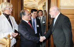 Chủ tịch Quốc hội thăm chính thức Thụy Sĩ