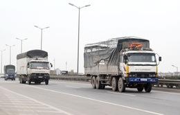 """Xe chở hàng từ 10 tấn trở lên sẽ bị """"quản chặt"""""""